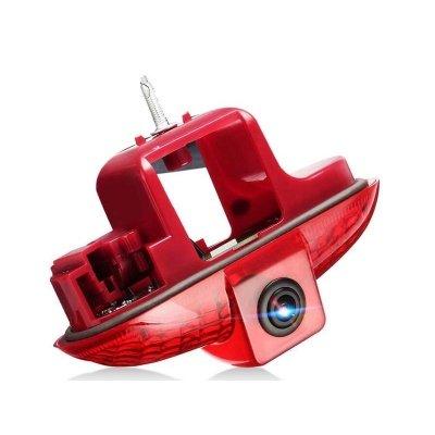 Камера заднего вида Рено Трафик (2001-2014) в стоп сигнале