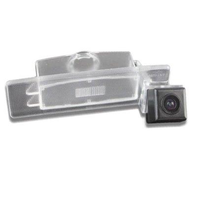 Камера заднего вида Kia Sportage 4 с динамическими линиями (2016-2021)