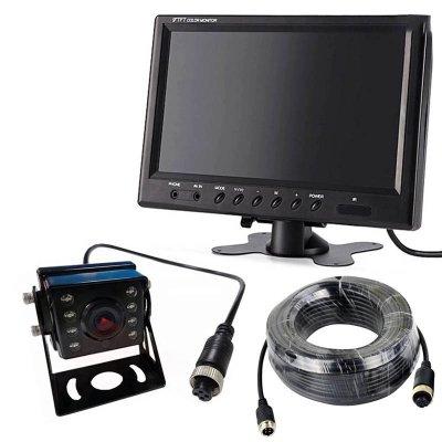Камера заднего вида для грузовиков 24В с монитором 9 дюймов